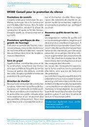 Documentation abrégée - HBT-ISOL AG
