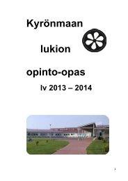 Opinto-opas (pdf) - Isokyrö