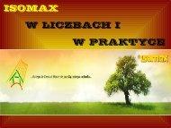 ISOMAX W LICZBACH I     W PRAKTYCE - Isomax - Terrasol