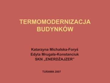 TERMOMODERNIZACJA BUDYNKÓW - Isomax - Terrasol