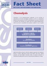 Chemolysis - Isopa