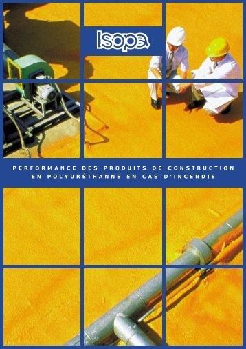 performance des produits de construction en polyuréthanne ... - Isopa