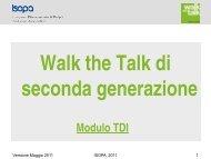Walk the Talk - Isopa
