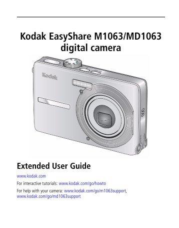 kodak easyshare z8612 is digital camera radio shack rh yumpu com Kodak EasyShare Cameras On Sale Kodak EasyShare C1530 Manual