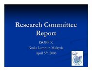 Annual General Meeting Research Committee - International ...