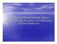 Professional Development Series (Panel Discussion)