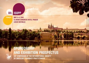Sponsor and exhibitors prospectus - International Society of ...