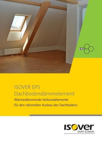 Broschuere ISOVER EPS Dachbodendaemmelement