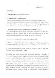 Autoreferat - Instytut Sztuki Polskiej PAN