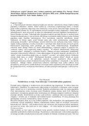 Abstrakty - Instytut Sztuki Polskiej PAN