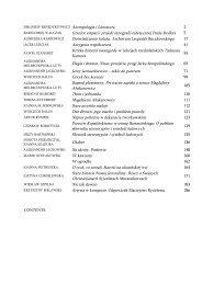 ZBIGNIEW BENEDYKTOWICZ Antropologia i Literatura 2 Granice ...