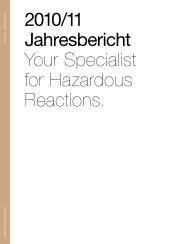 2010/11 Jahresbericht Your Specialist for Hazardous ... - Dottikon