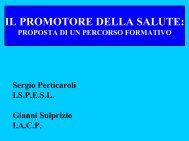 Sergio Perticaroli – Dipartimento Documentazione ... - Ispesl