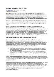 Becker Active 43 Talk im Test - mobilenavigation.mybecker.com