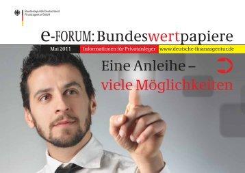 e-FORUM: Bundeswertpapiere - Finanzagentur GmbH