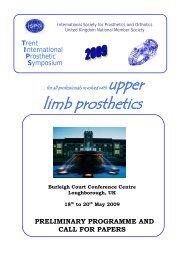Preliminary Programm.. - ISPO