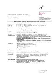 Programm Outdoor Sommer Bergsport (pdf, 80KB) - Institut für ...