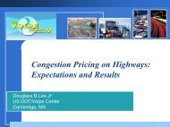Congestion Pricing on Highways: Expectations and Results