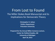 Download or view presentation - University of Michigan