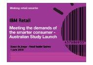 IBM Retail - Israel Trade Commission