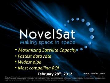 NovelSat - Israel Trade Commission