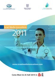 Israel's New-Media Innovation - Israeli-South African Trade ...