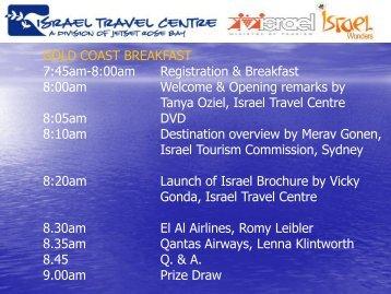 Program - Israel Trade Commission