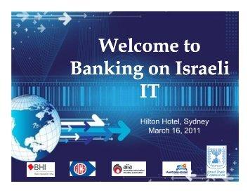 The Israeli IT Industry - Israel Trade Commission