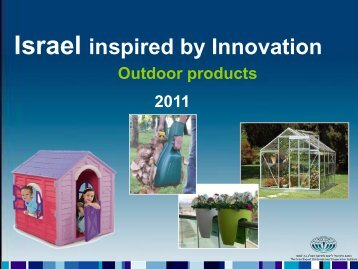 please click here - Israel Trade Commission