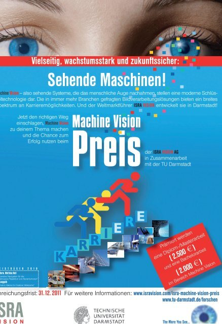 Machine Vision Sehende Maschinen! - ISRA VISION AG