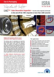 CANexpert DQI Module Flyer - ISRA VISION AG