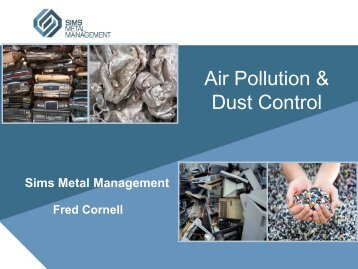 Air Pollution & Dust Control - ISRI Safety