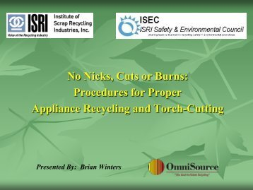 Download - ISRI Safety