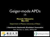 Geiger-mode APDs