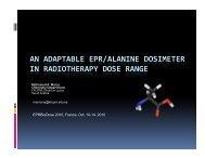an adaptable epr/alanine dosimeter in radiotherapy dose range