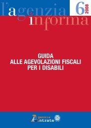 Guida alle agevolazioni fiscali per i disabili - Istituto Superiore di ...