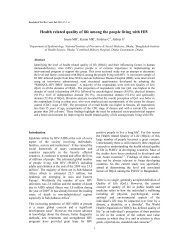 Health related quality of life among the people living with HIV [PDF ...