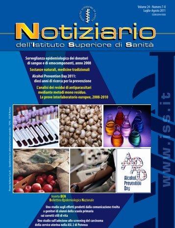 www .iss.it - Istituto Superiore di Sanità