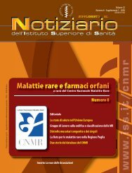 Rete nazionale malattie rare - Istituto Superiore di Sanità