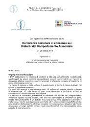 programma cc-1 - Le Buone Pratiche di cura nei Disturbi del ...