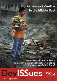 Politics and Conflict in the Middle East - ISS