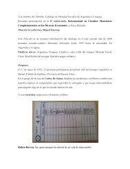 A la Sombre del Arbolito. Catálogo de Monedas Sociales de ... - ISS