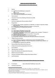 AGENDA 172nd INSTITUTE BOARD MEETING - ISS