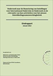 EINDRAPPORT Onderzoek IO en ASC - ISS
