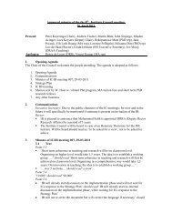 Approved minutes of the the 8th Institute Council meeting, 26 ... - ISS