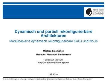 Dynamisch und partiell rekonfigurierbare Architekturen