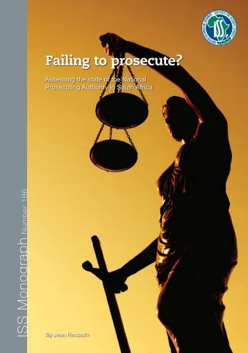 IS S M o n o g ra p h Failing to prosecute? - Hanns-Seidel-Stiftung