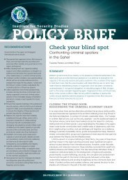 Download policy brief 39 PDF - Institute for Security Studies