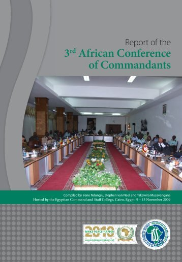 3rd African Conference of Commandants - Institute for Security Studies