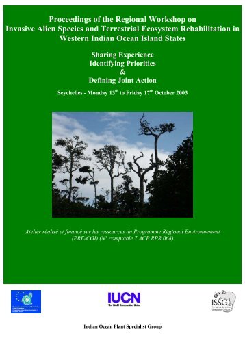 Woody Invasive Species: A Regional Assessment - IUCN Invasive ...